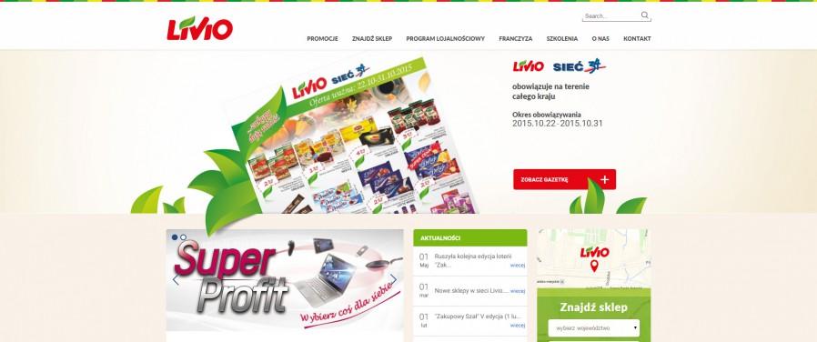 Livio sklepy - strona główna
