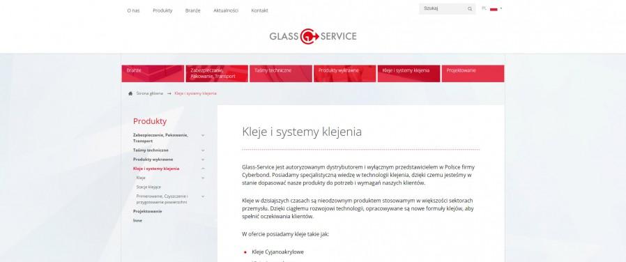 Glass - Service - katalog