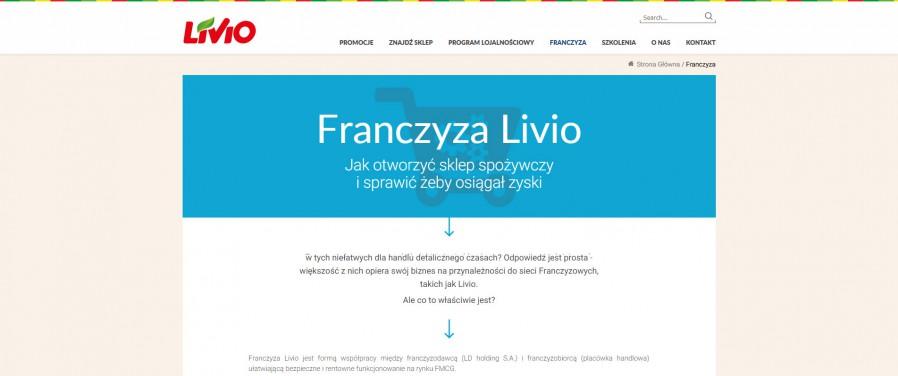 Livio sklepy - franczyza