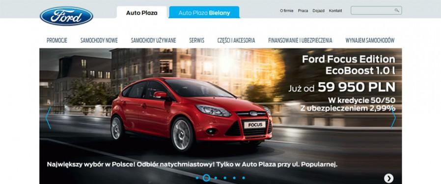 Auto Plaza Ford - strona główna