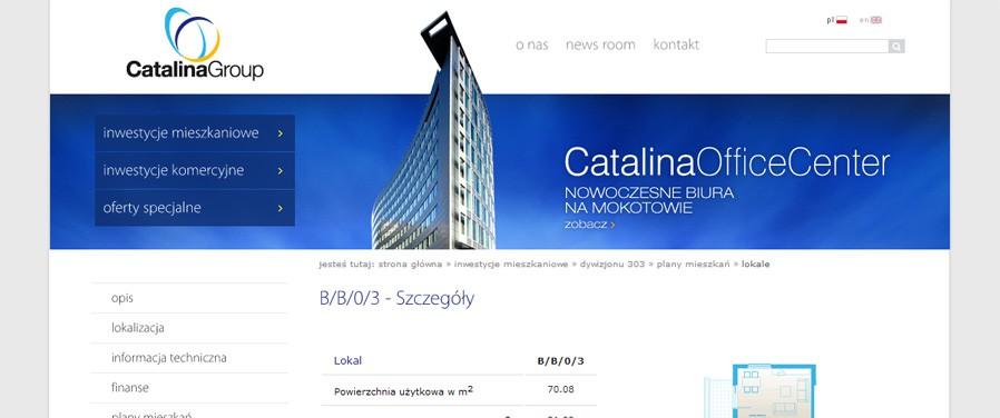 Catalina Group - plan lokalu