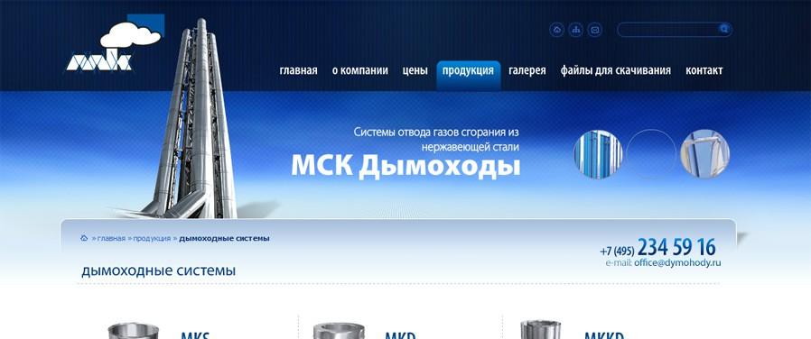 MSK Dymohody - strona kategorii