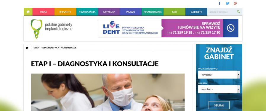 PGI - Diagnostyka i Konsultacje Polskie gabinety implantologiczne