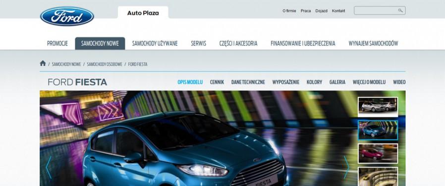 Auto Plaza Ford - widok modelu