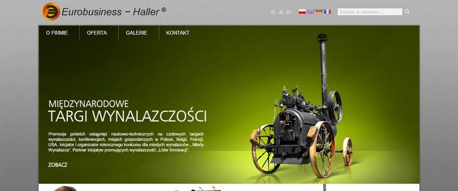 Eurobusiness Haller - strona główna