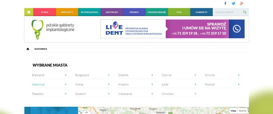 PGI - Katowice - polskie gabinety implantologiczne