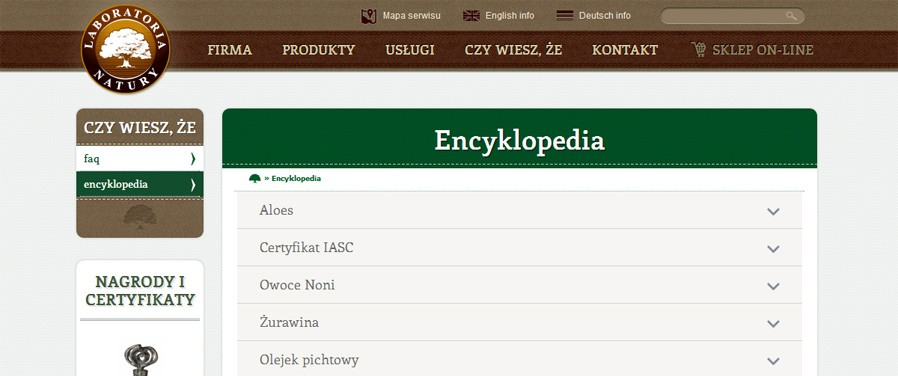 Laboratoria Natury - encyklopedia