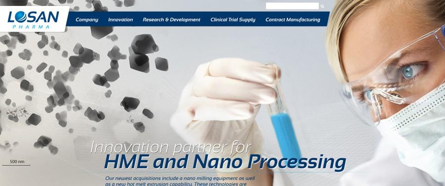 Losan Pharma - strona główna