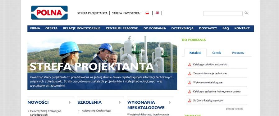 Polna SA - strefa projektanta