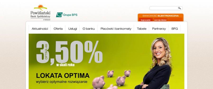 Powiślański Bank Spółdzielczy - Strona główna