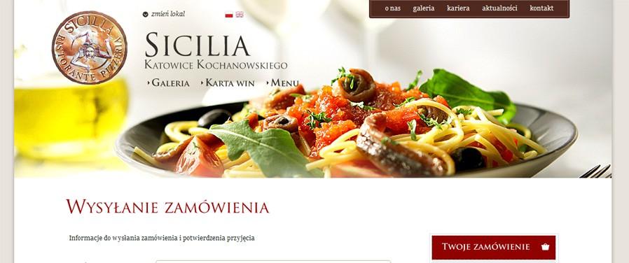 Pizzeria Ristorante SICILIA - zamówienie