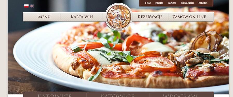 Pizzeria Ristorante SICILIA - strona główna / rezerwacja stolika