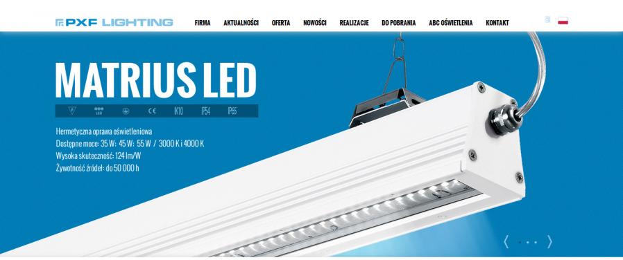PXF Lighting - Strona Główna