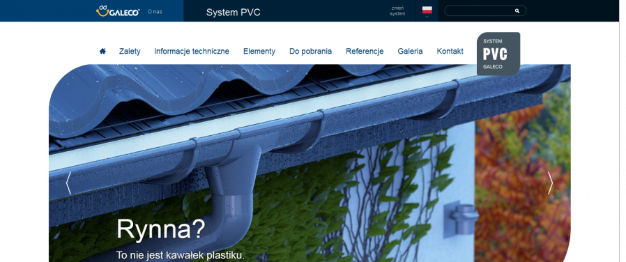 Galeco - system pvc
