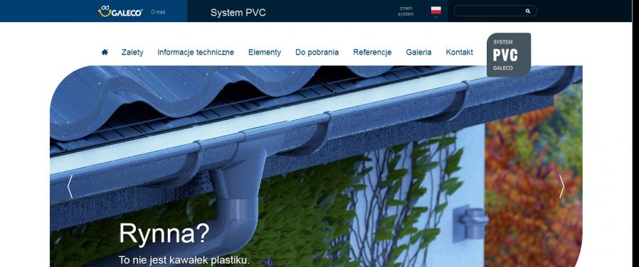 Galeco - system pvc