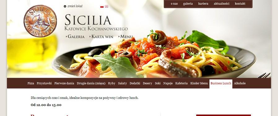 Pizzeria Ristorante SICILIA - menu