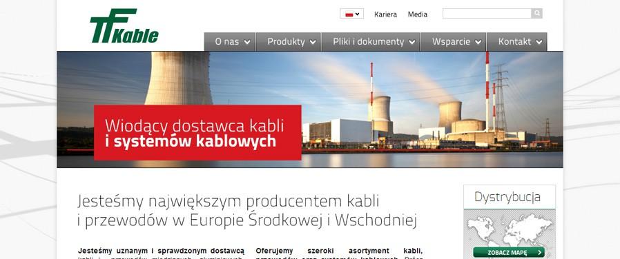 TELE-FONIKA Kable Sp. z o.o. - strona główna