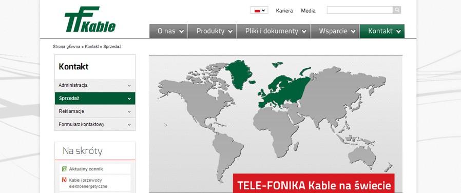 TELE-FONIKA Kable Sp. z o.o. - dystrybucja