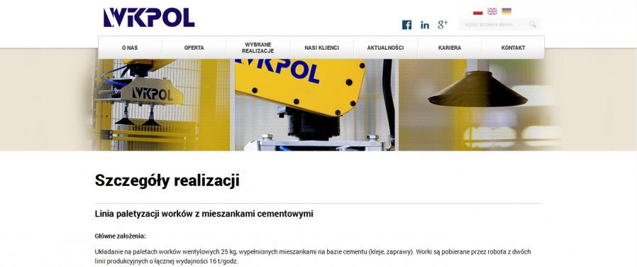 WIKPOL - Robotyzacja Procesów - Realizacja